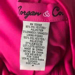 Morgan & Co. Dresses - Hot pink prom dress